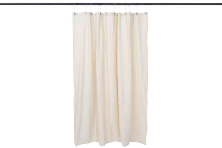 The Utility Canvas Curtain Panel is made with preshrunk canvas and cut in a 68-by-70-inch panel; $6 at Utility Canvas.