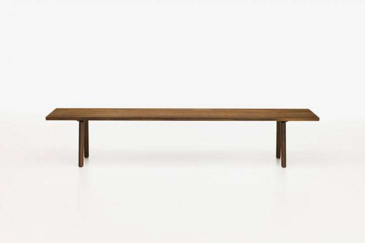 10 Easy Pieces Versatile HardWearing Wood Dining Benches TheWood Bench designed by Barber & Osgerby for Vitra comes in oiled oak, smoked oak, and American walnut; £\1,\290 (\$\1,700) at Twenty Twenty One.
