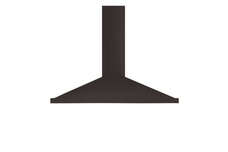 10 Easy Pieces WallMounted Chimney Range Hoods The sleek AGA Legacy Wall Mount Canopy Chimney Range Hood is available in black, ivory, cranberry, vintage white, and stainless steel;\$\1,\149 at AJ Madison.