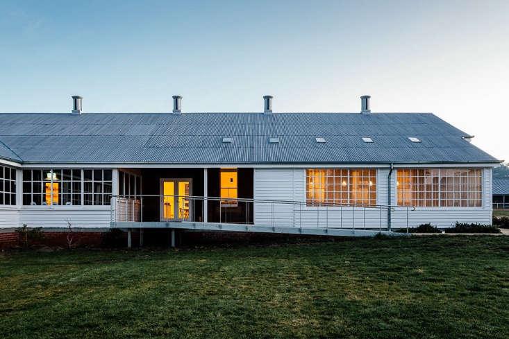 agrarian kitchen tasmania farm building