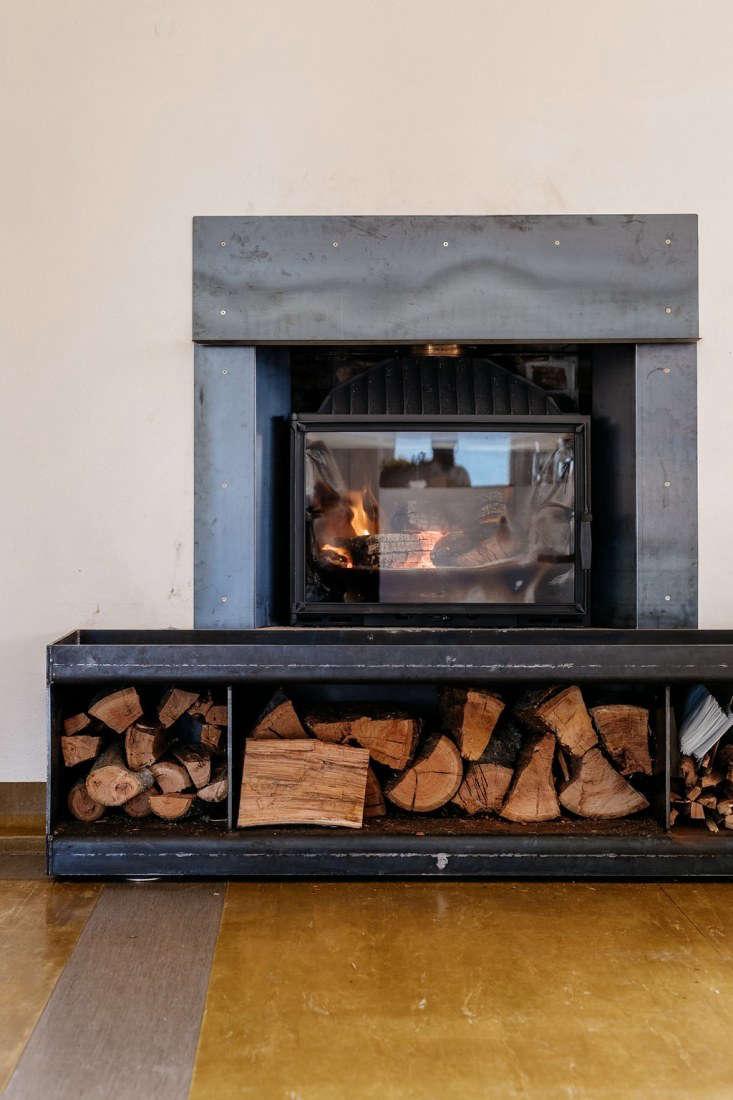 agrarian kitchen tasmania fireplace