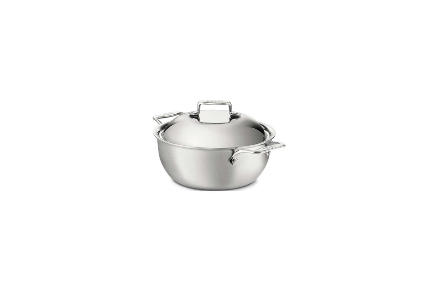 The All-Clad Stainless Steel Dutch Oven with a Domed Lid is $334.95 on Amazon.