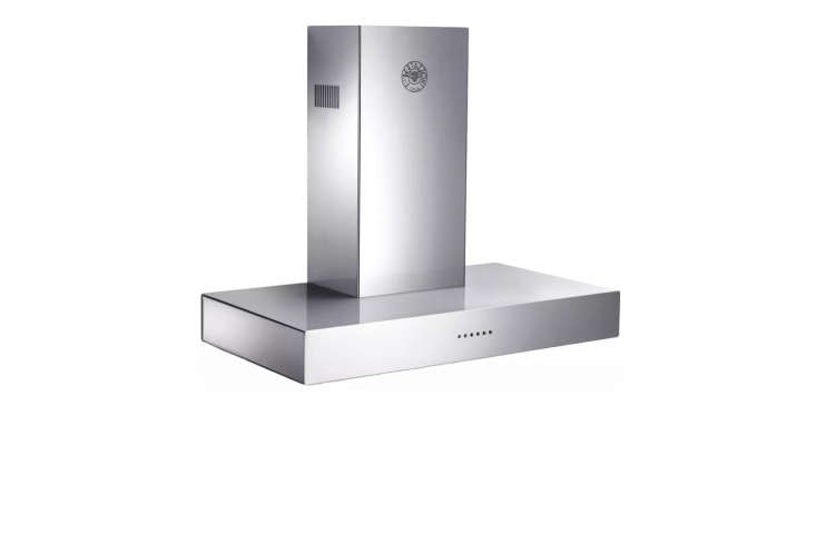 10 Easy Pieces WallMounted Chimney Range Hoods Bertazzoni's Modular Series 36 Inch Wall Mount Chimney Range Hood offers a contemporary style with steel encased glass touch controls;\$\1,\259 at AJ Madison.