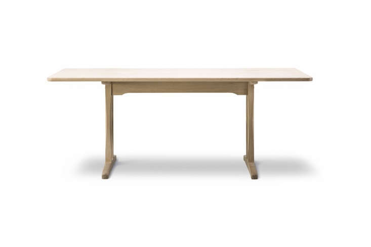 the børge mogensen c\18 dining table in soaped oak is \$3,590 at the danish de 14