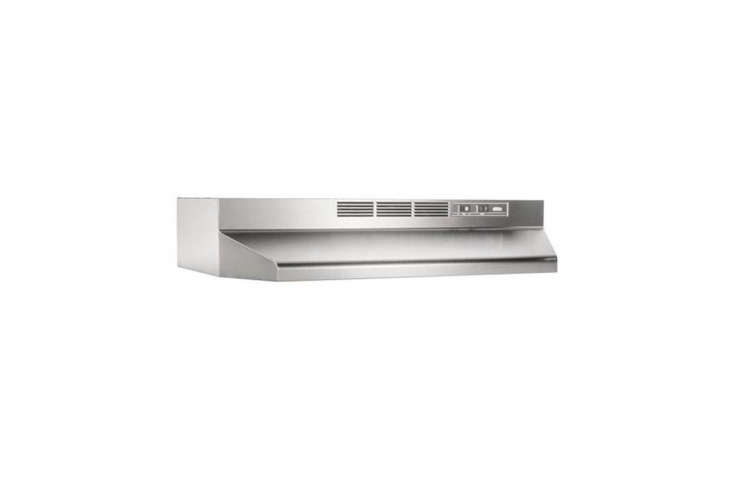 The Broan 30-Inch Non-Ducted Range Hood is designed to be installed without a duct, is well priced, and gets high marks from customer reviews;$8loading=