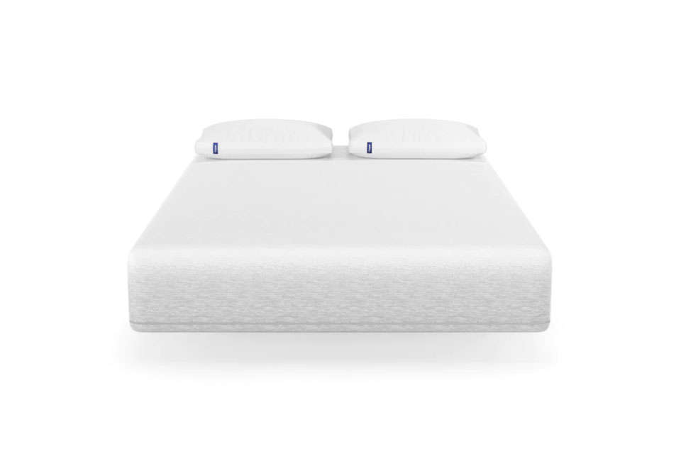 The hotel uses Casper mattresses in all the bedrooms. TheCasper Wave Mattress is $src=
