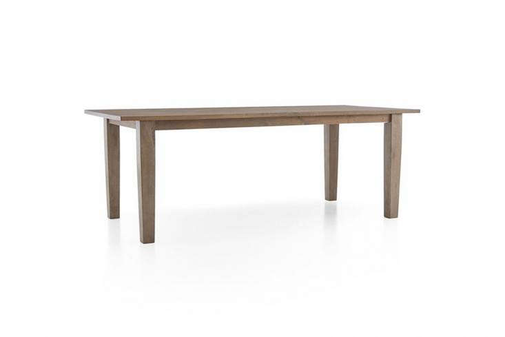 10 Easy Pieces Modern Farmhouse Dining Tables TheBasque Honey Dining Table is \$799 for the 8\2 inch long size atCrate & Barrel.