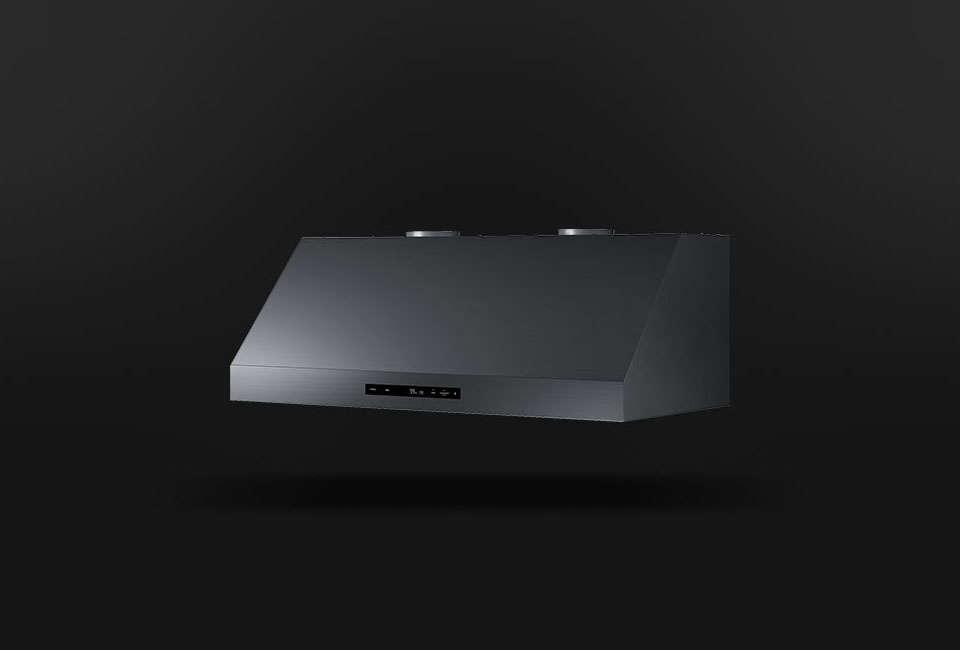 Dacor's high-tech Modernist 36-Inch Wall Hood is $