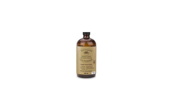 With only four ingredients and five times the strength of household vinegar (one of our favorite all-purpose cleaning agents) theEco-Pioneer Concentrated Pure Vinegar Cleaner can be used all over the house and garden (tips here). It also comes in a reusable amber glass container; $9. from Well.ca.