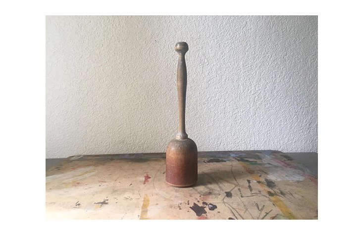 Etsy shop Unearthed Salvage sells a variety of vintage wooden mashers and pestles. This one, an Antique Wood Primitive Masher, is $ and has a &#8