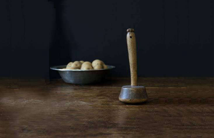 A charming Antique Irish Potato Masher was found in a shop in County Wexford and dates back to the th century; it&#8