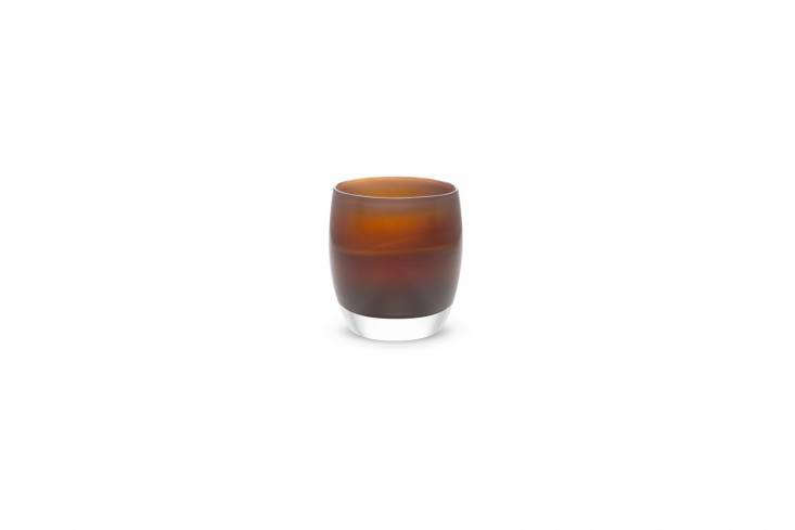 TheGlassybaby Jane's Caramel Votive Holder is available at Glassybaby.
