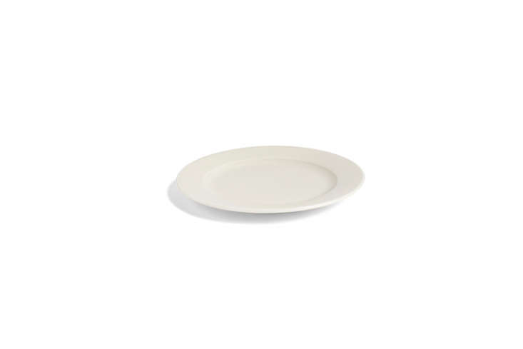 Hay Yellow Rainbow Plates, from the Kitchen Market collection designed by Frederik Bille Brahe, are Caroline&#8