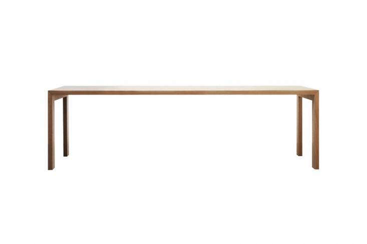 TheGamma Table by Jasper Morrison for Cappellini is available in oak or lacquer, in loading=