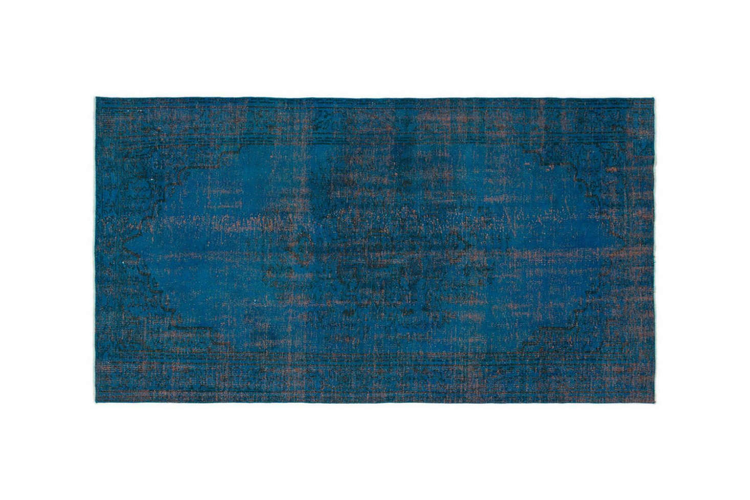 The Turquoise Overdyed Turkish Vintage Rug is $4 at Kilim.com.