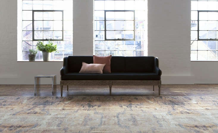 The Marble rug, from the Mosaic collection.