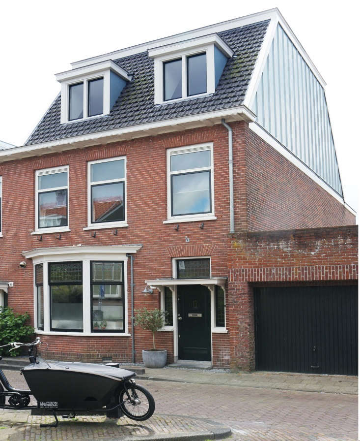 Located on a brick-paved street at the edge of Haarlem&#8