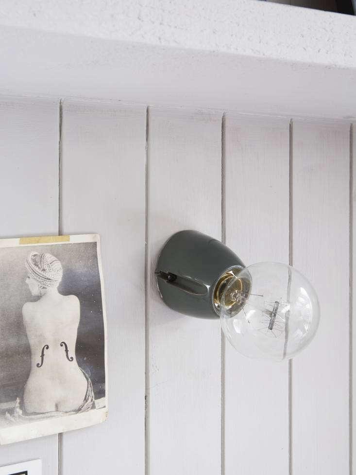 mark lewis kitchen desk detail bakelite wall light 13