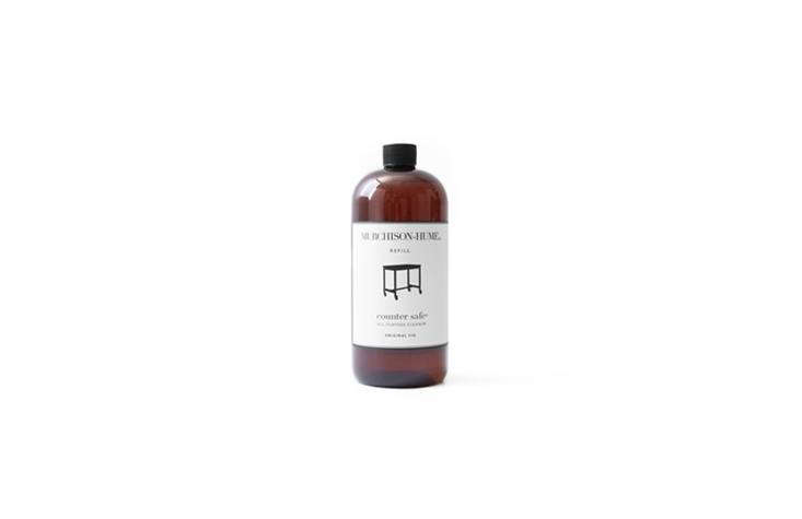 Australian company Murchison-Hume, a Remodelista go-to for natural cleaning products, offers a Counter Safe All-Purpose Cleaner—free of ammonia, bleach, and dyes—for $9.