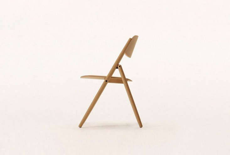 designed by naoto fukasawa, thefolding chair is \$\1,\200 cad (\$940 usd) fro 12