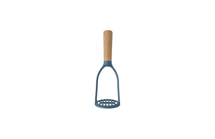 For a modern take, we like the Potato Masher with Wooden Handle, €.95 ($.8loading=