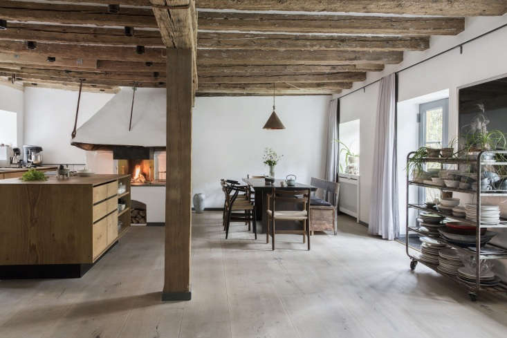 Expert Advice Nadine Redzepis Secrets to a WellOrdered Home Kitchen The couple enlistedGarde Hvalsøe,three cabinetmakers, and an architect working with Dinesen wood to create their custom family kitchen.Photograph courtesy of Dinesen.