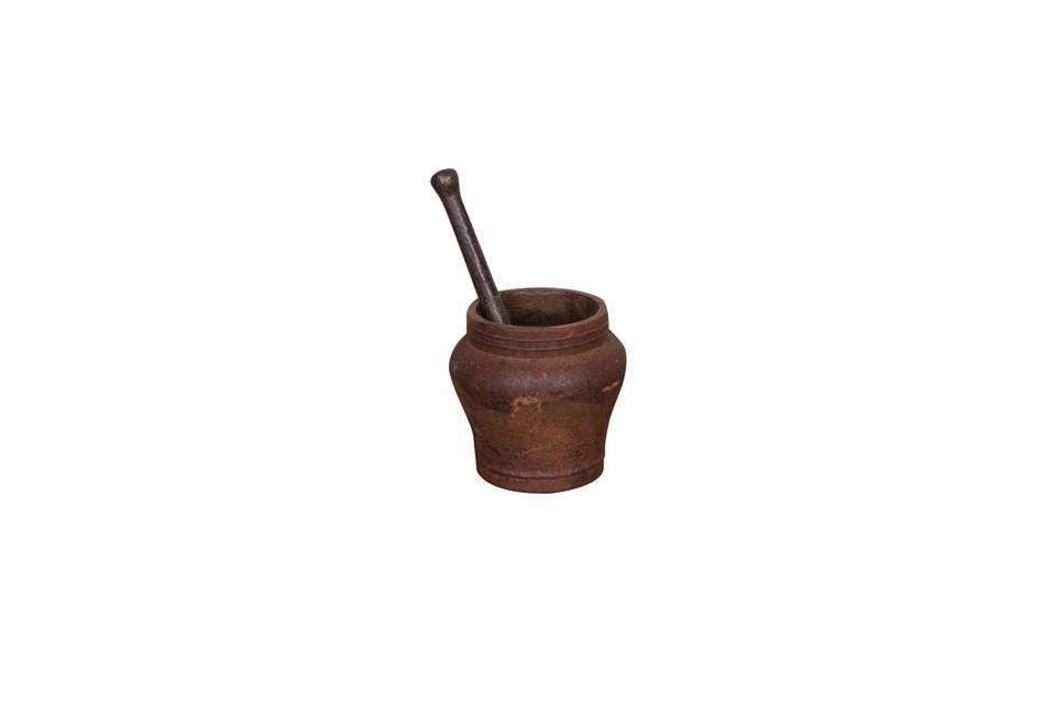 The Sarreid Vintage Mortar & Pestle is $7src=