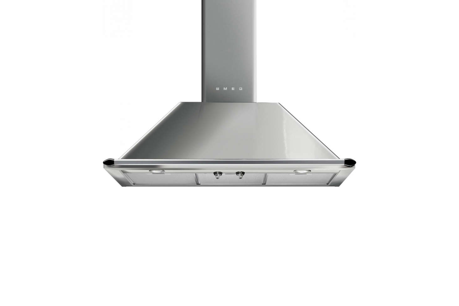 For a more traditional look, consider the Victoria 36-Inch Wall-Mount Chimney Ventilation Hood made by Smeg. It&#8