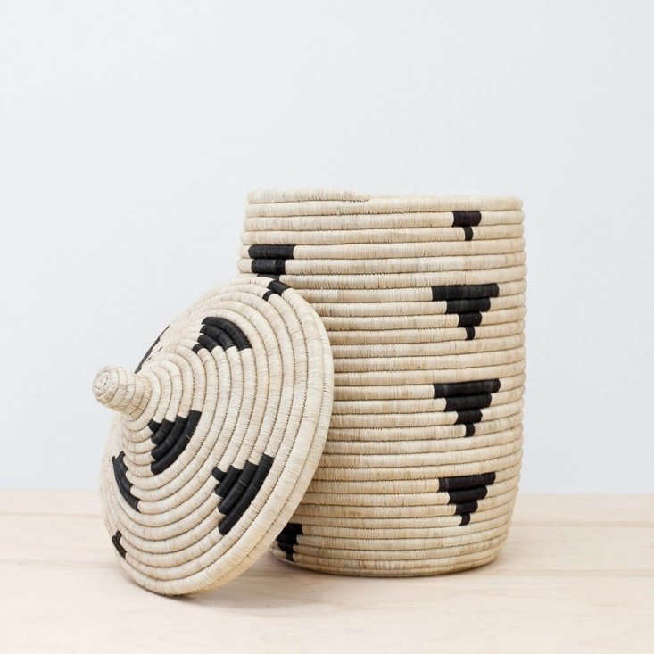 TheNzuri Basket would make a generous catchall by the front door. It&#8