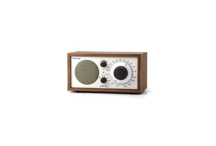 Featured in the Remodelista 0,theModel One Bluetooth Radio, an update on the design by Henry Kloss for Tivoli Audio, is $9.99 from Lumens.