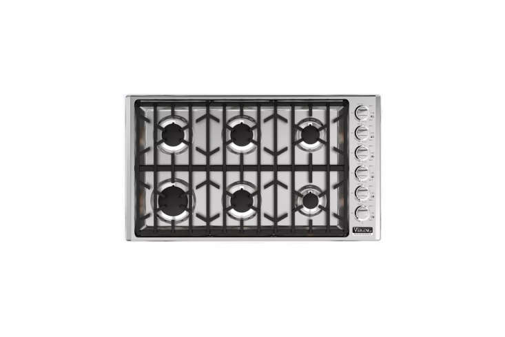 the viking professional 5 series 36 inch gas cooktop (vgsu5366bss) at \$\1,669  16