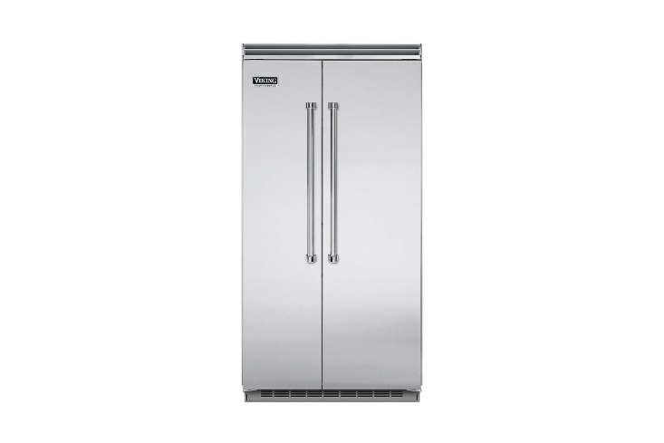 the viking side by side stainless steel refrigerator (vcsb54\23ss) is \$9,889 a 13