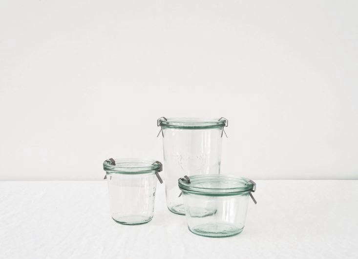 our favorite all purpose jars for the kitchen: theweck 74\2 mold jar (left) 12