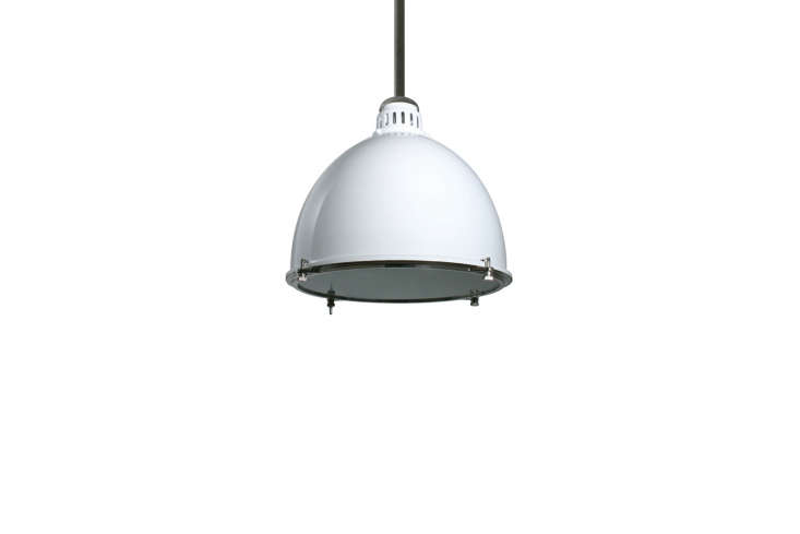 A similar pendant light to the one at Lidkøeb is the White Industrial Warehouse Pendant Light, available at Urban Archaeology. Contact Urban Archaeology for ordering information.