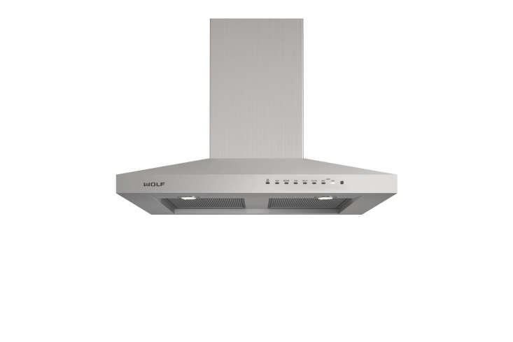 10 Easy Pieces WallMounted Chimney Range Hoods The Wolf 36 Inch Wall Mount Chimney Range Hood has a high power blower, dishwasher safe filters, LED lighting, and a telescoping chimney that reaches most ceiling heights. Contact AJ Madison for pricing and availability.