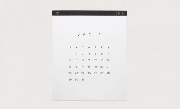 appointed calendar 2018