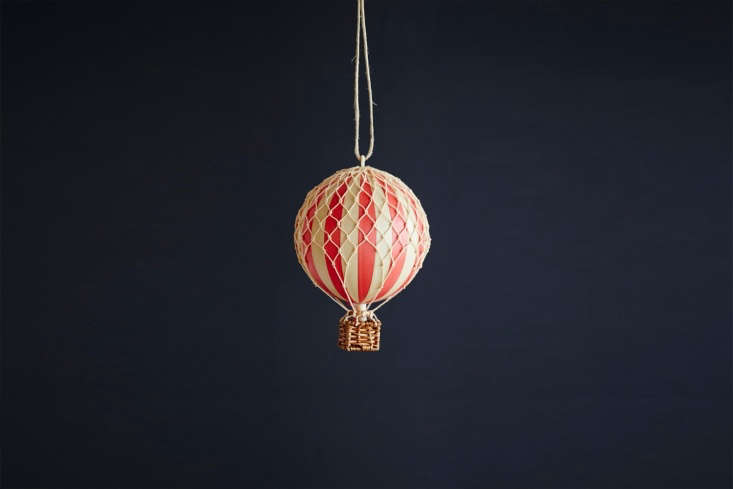 Artilleriet in Sweden makes the Christmas Balloon Ornament available in five colors; 0 SEK ($ USD).