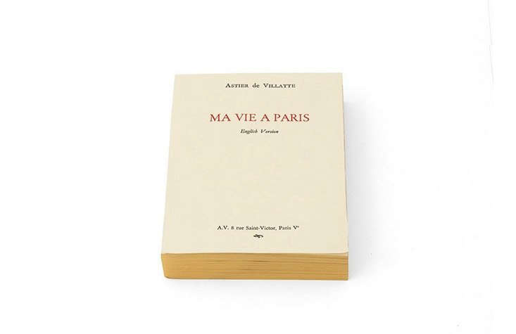 From the founders of Astier de Villatte is Ma Vie À Paris, a guide that, on the outside, &#8