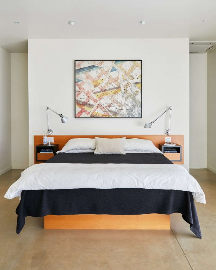 baker lane modern bedroom artwork singer