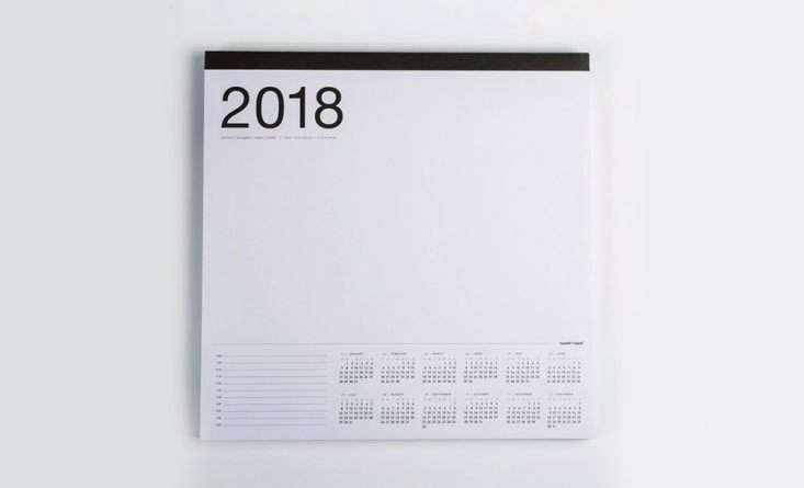 canoe 2018 wall desk calendar