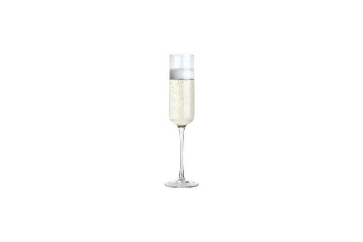 10 Easy Pieces Champagne Flutes The simpleFizz Champagne Flute from CB\2 is \$4.50.