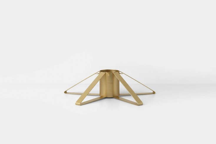 Another style from Ferm Living, the Christmas Tree Foot in brass can be sourced at Finnish Design Shop for $68.90.