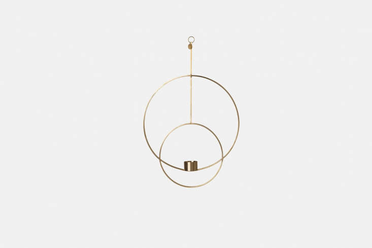 ferm living&#8\2\17;s large circle candle holder is made of two interlace 10