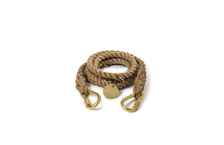 The sturdy Found My Animal Natural Rope Leash ($9