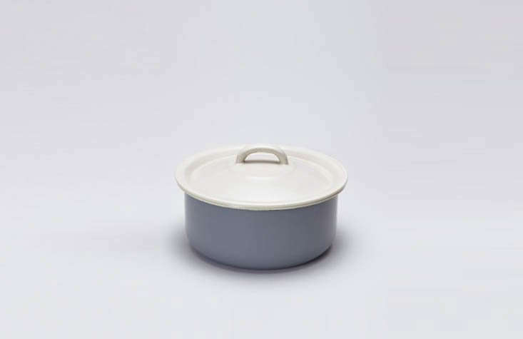 I am coveting the Grey Enamel Dog Bowl with a Lid, among the more attractive options I&#8