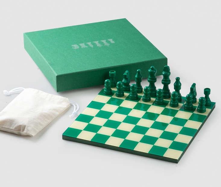 green chess set print market works