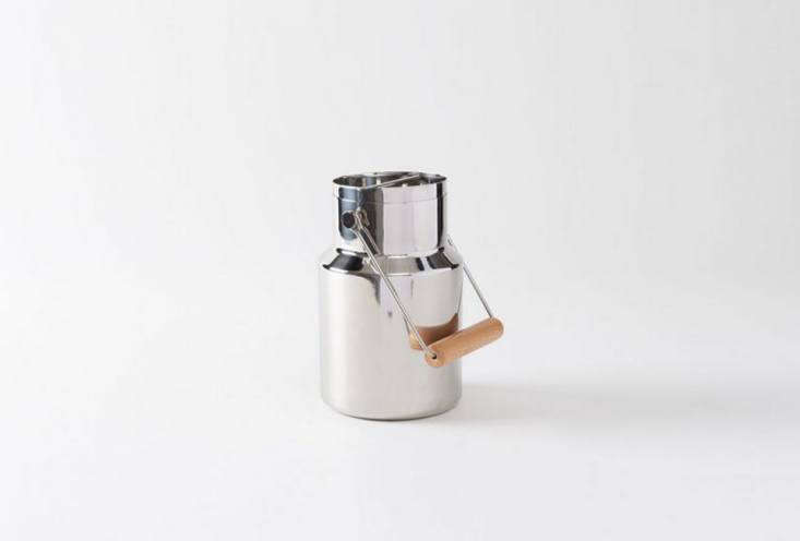 the l&#8\2\17;atelier du vin stainless steel and beech timbale bucket was p 10