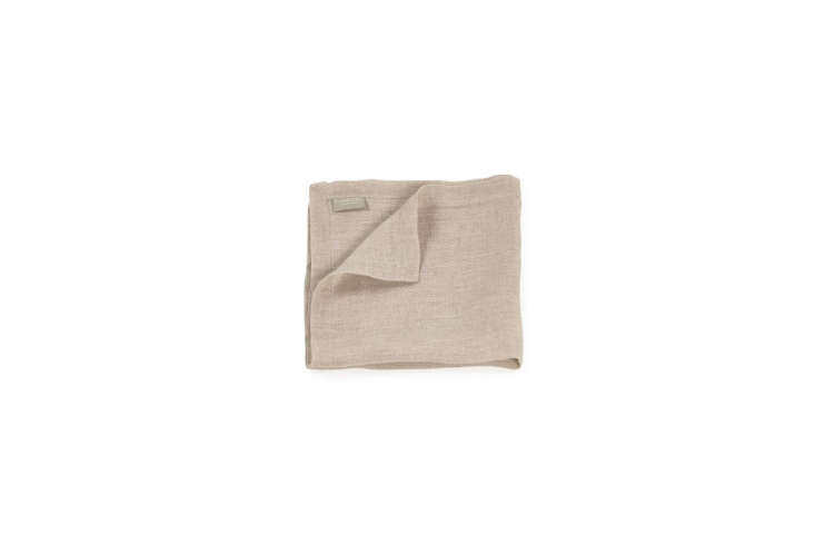 the libeco fjord washed napkins in ash (shown) are \$\29 at libeco. 20
