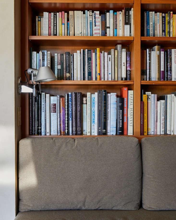 library baker lane books sofa lamp