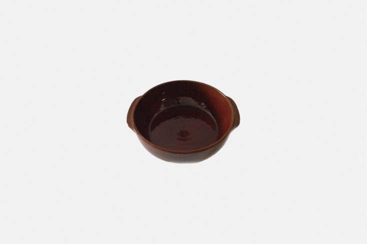the manufacture de digoin plat creux no. 4 in brown is €39.90 (\$47) at la bo 22